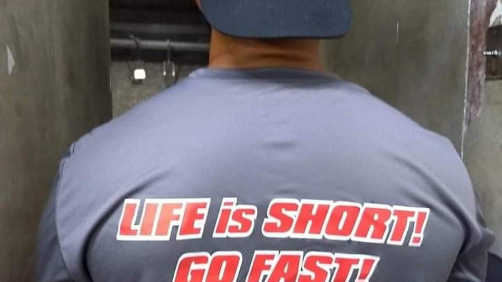 EDGYVETTE SHIRTS: Life is Short! Go Fast!