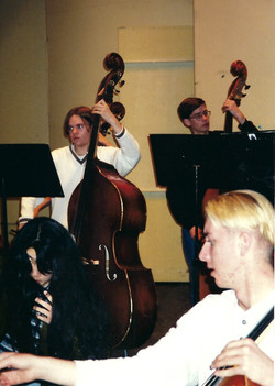 Flagstaff 1997_Basses with cello