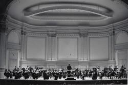 Carnegie Hall concert stage