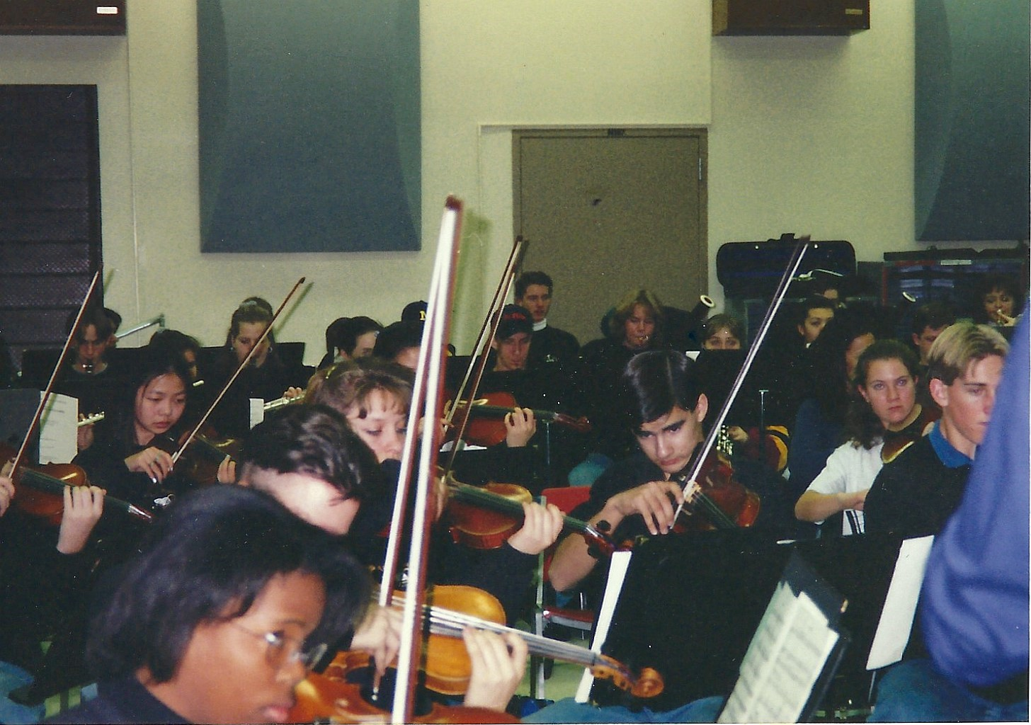 Flagstaff 1997_In rehearsal