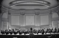Carnegie Hall on stage