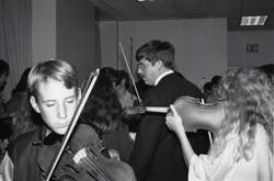 Carneigie Hall Pre Concert practice
