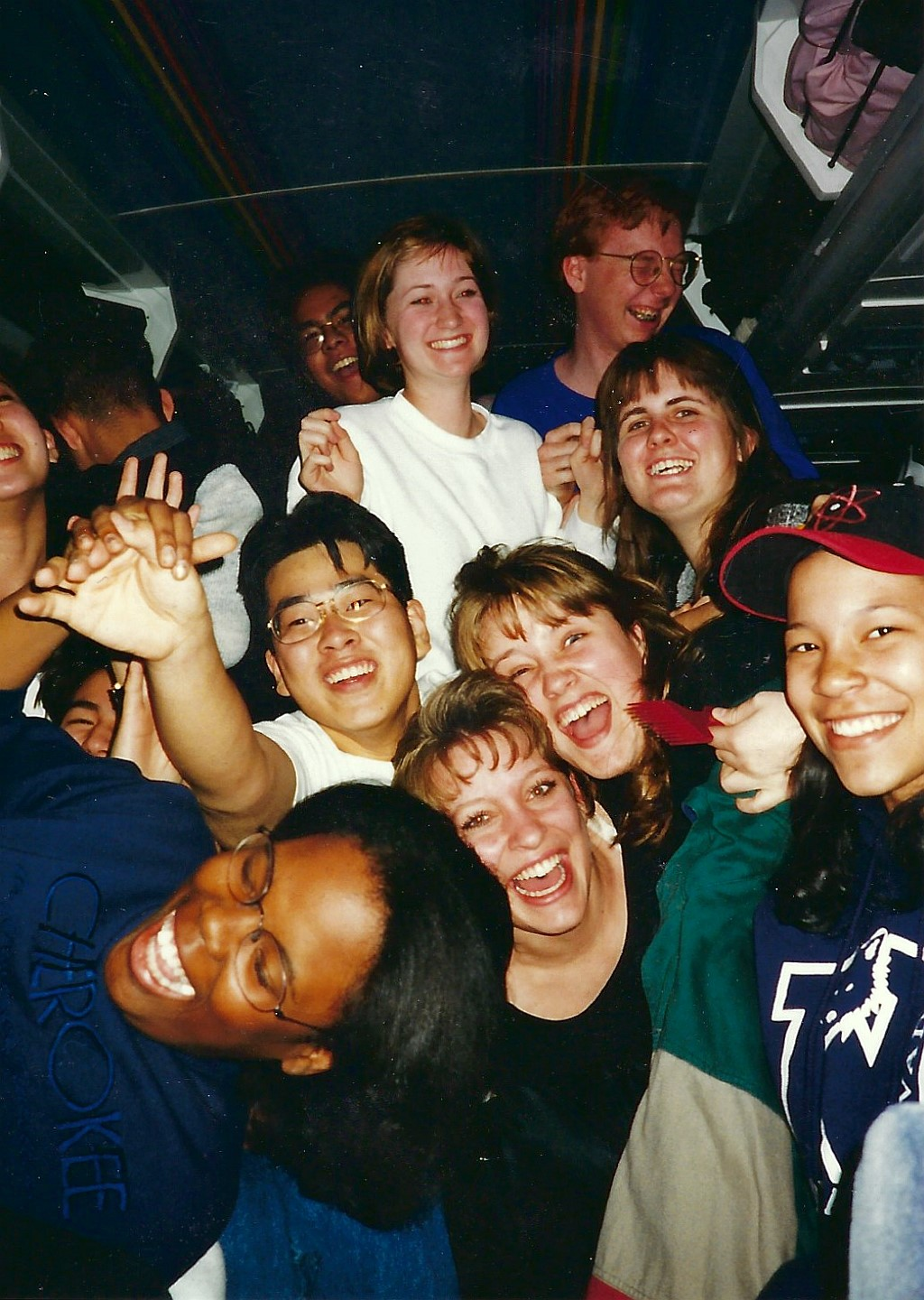 Flagstaff 1997_Fun on the bus