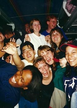 Flagstaff 1997_Fun on the bus