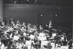 Carnegie Hall above stage view