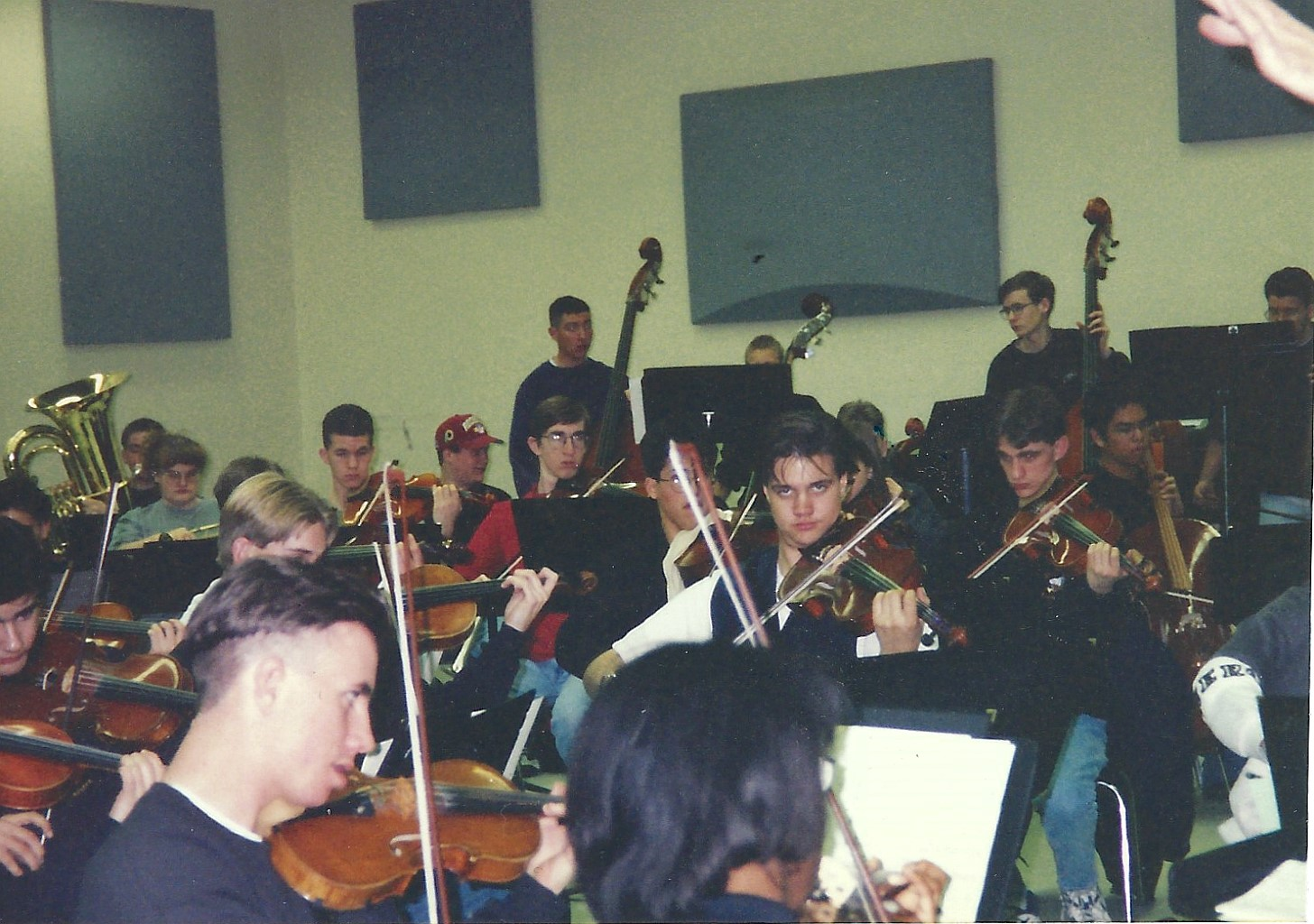 Flagstaff 1997_Strings and Tuba