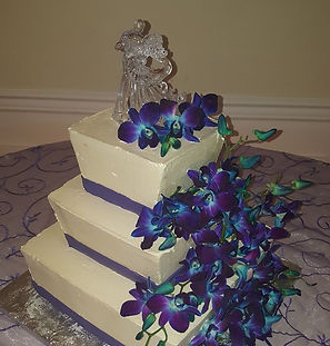 Mazziotti Bakery Wedding cake