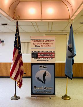 Homeless Veterans In America Relief Foundation