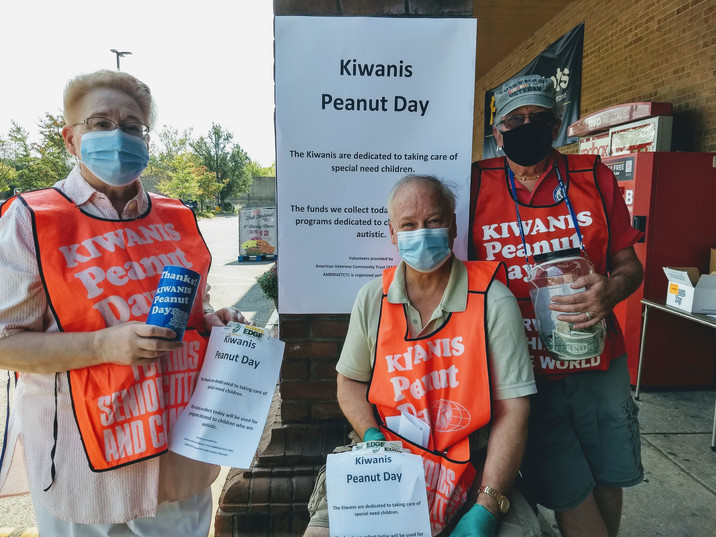 Kiwanis Peanut Day Event 2020