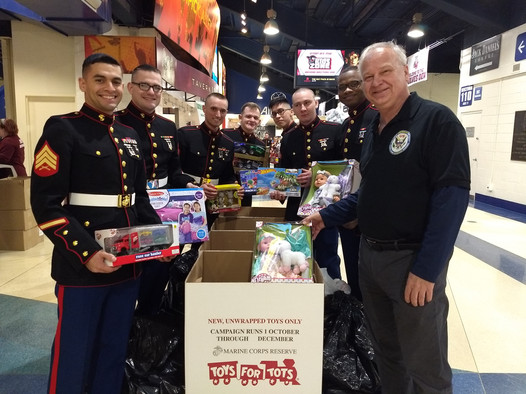 Marine Corps - Toys For Tots Event
