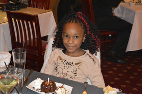 One of the birthday girls!