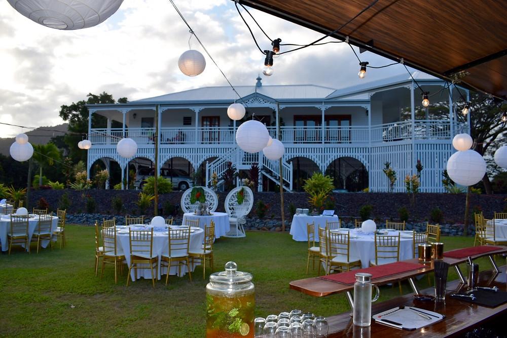 Port Douglas wedding, mobile bar