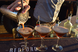 The Bedford Bar, cocktail service