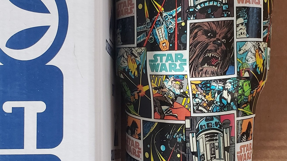 30oz Star Wars Vintage Comic Strip Tumbler
