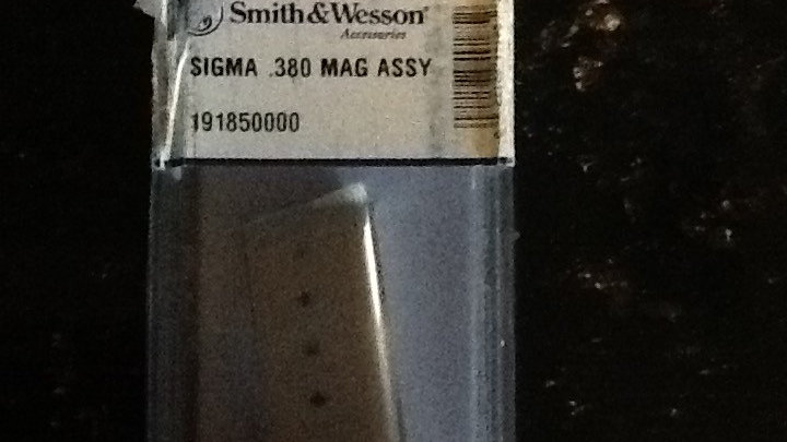 Smith and Wesson .380 Magazine