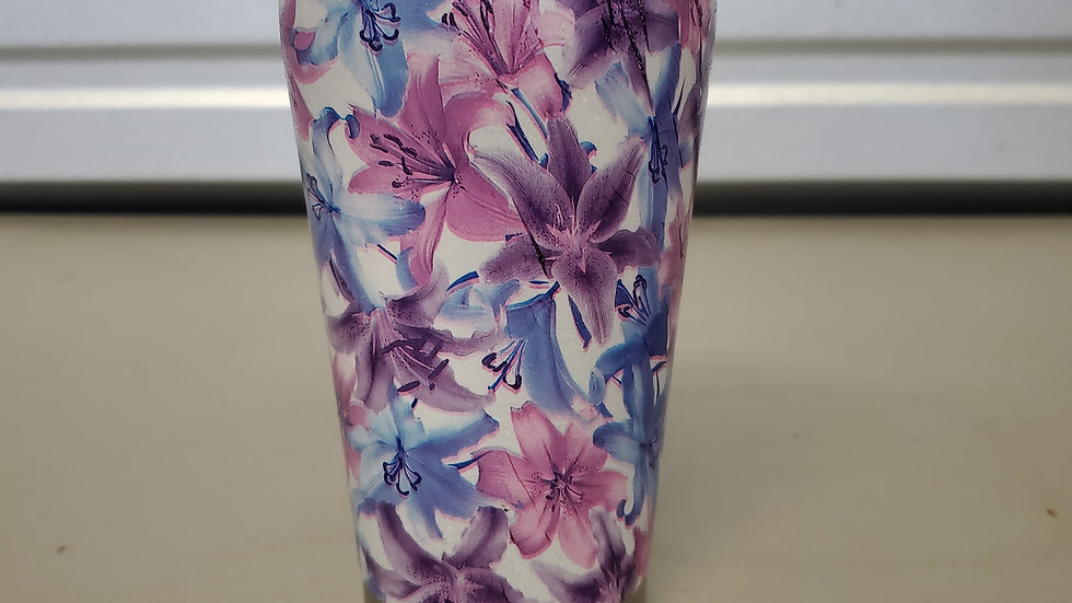 Lilacs 16oz Stainless Steel Tumbler