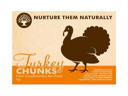 NTN Turkey Chunks (1kg)