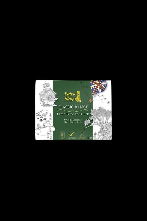 Paleo Ridge - Classic Lamb Tripe & Duck Complete (1kg)