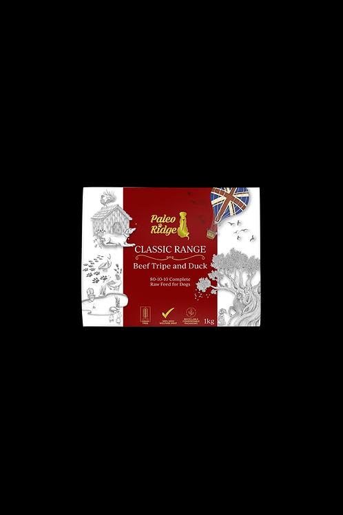 Paleo Ridge - Classic Beef Tripe & Duck Complete (1kg)