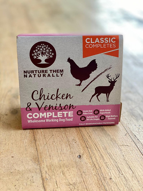 NTN - Chicken & Venison Complete (500g)