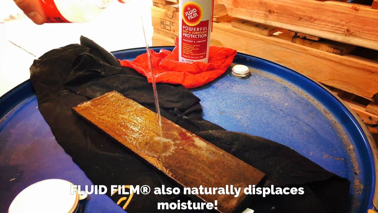 Protect your equipment with FLUID FILM®!