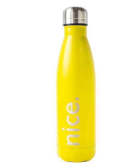 Insulated water bottle 500ml Matte Yellow