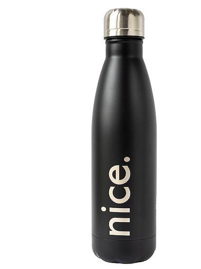 Insulated water bottle 500ml Matte Black