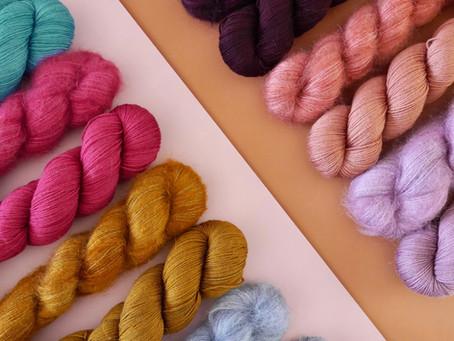 Idée à tricoter avec deux écheveaux