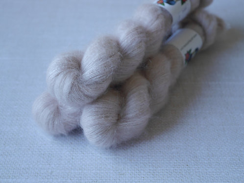 PEPETES - KMS - 72% kid mohair 28 % soie - Lace
