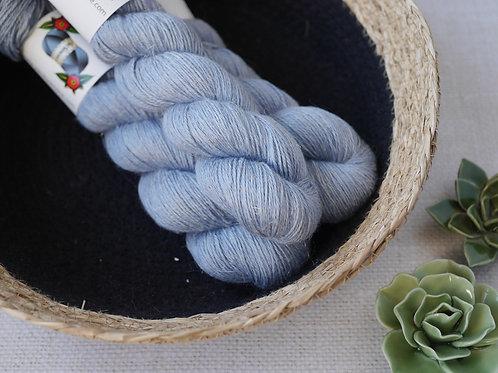BLUE VALENTINES - ALS - 50% baby Alpaga 25% Lin 25% Soie - fingering
