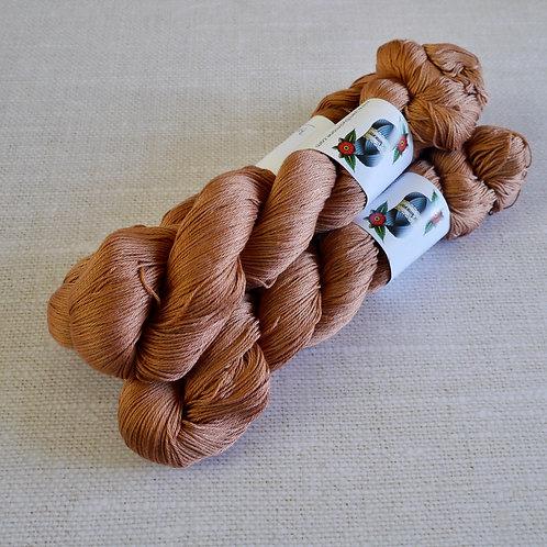 sugar brown - 100%COTON - fingering