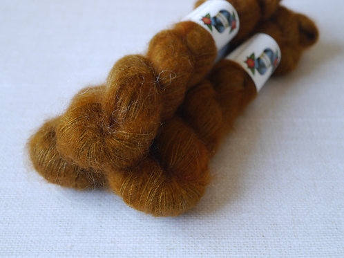 TOFFEE - KMS - 72% kid mohair 28 % soie - Lace