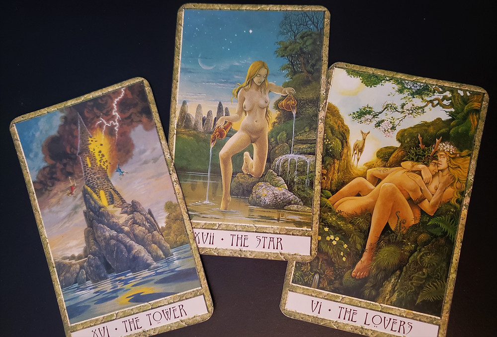 Celtic style tarot at SLC day spa