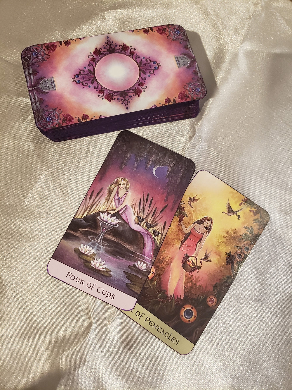 Tarot card reading by SLC crystal healer