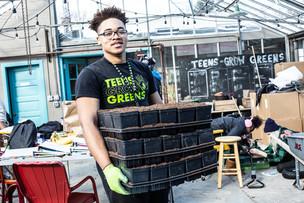 #RockTheGreen: Get to know Lex Allen 🎤 ~ Teens Grow Greens 🥬