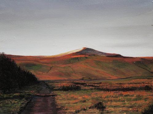 Wales, Pen Y Fan peak