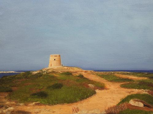 Alcalfar tower, Punta Prima, Menorca