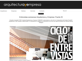 ENTREVISTA ARQUITECTURA Y EMPRESA /  Oficinas Teidagua