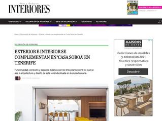 PUBLICACIÓN REVISTA INTERIORES / Casa Soroa