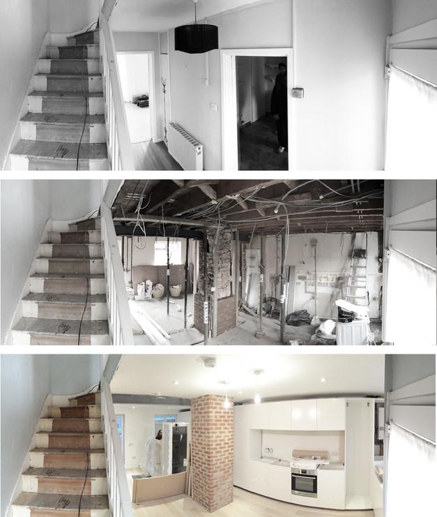 casa LS, el antes y el después