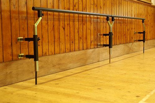 Mode Wall mounting, 4 metre barre - code WB/P+E