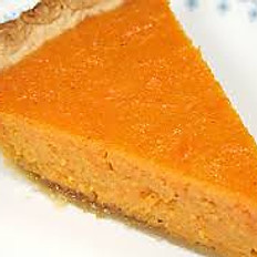 Sweet Potato Pie (slice)