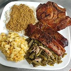 Pork Chop & Rib Dinner