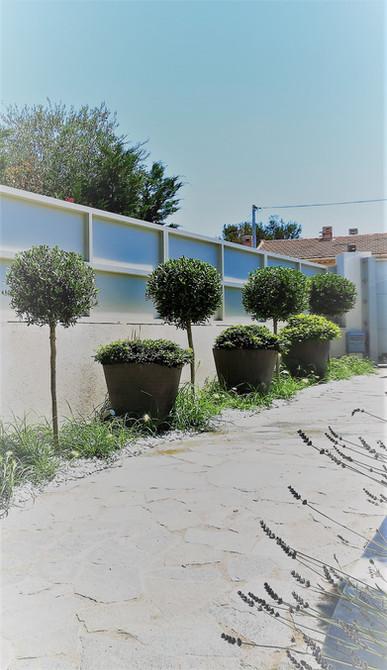 jardin provencal moderne