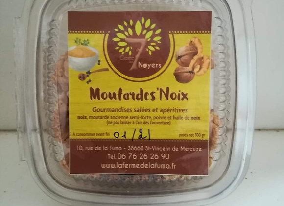 Moutarde'noix boite de 100g