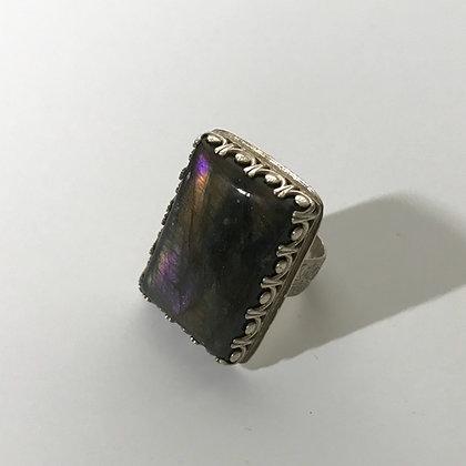 Labradorite Ring Size 9
