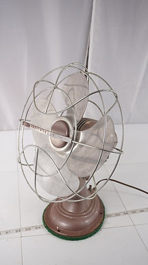 1950s Westinghouse 12in Oscillating Fan - Works