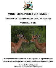 Ministerial Policy Statements FY 2015-16