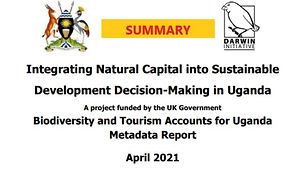 Uganda's natural capital, including biodiversity, contributes substantially to the economic growth and well-being of its people and their environment. This project, seeks to ensure that the value of the biodiversity-related natural capital is considered in the national planning processes. (Summary)