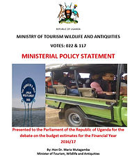 Ministerial Policy Statement FY 2016-17